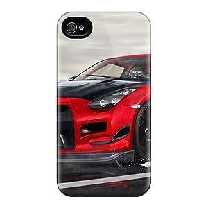New Tpu Hard Case Premium Iphone 4/4s Skin Case Cover(gtr)
