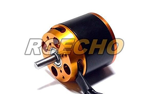 RCECHO® RCS Model Airplane KA63-24L 193KV R/C Aircraft Outrunner Brushless Motor OM410 with 174; Full Version Apps Edition