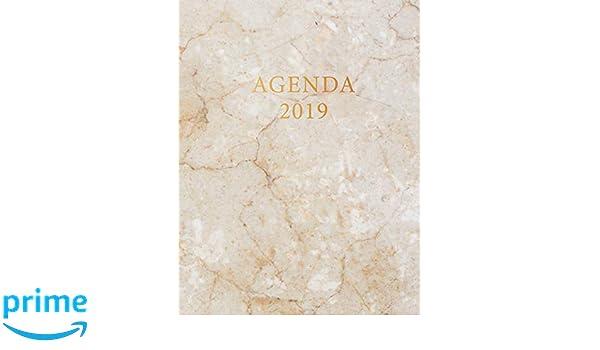 Agenda 2019: Semana Vista | Mármol Blanco y Oro ...