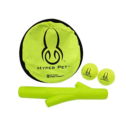 Hyper Pet Flippy Flopper Fitness and Fetch Dog Toy Variety P