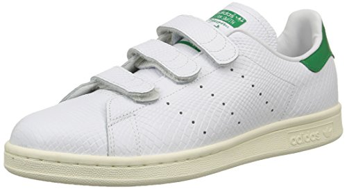 Stan white De Skateboard Originals Mixte Adulte Chaussures White green Adidas Cf cream Smith Blanc qf51wvXwx
