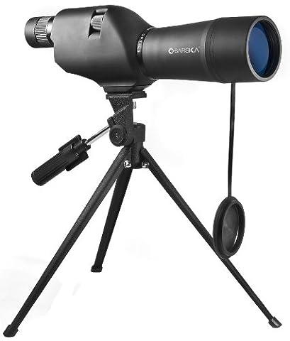 BARSKA 20-60x60 Waterproof Straight Spotting Scope with Tripod (Binocular 60x)