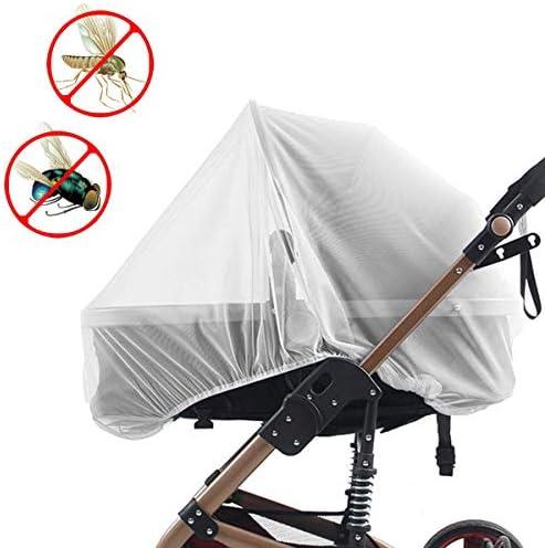 Biubee ベビーカー蚊帳 2個 ベビーカーカバー 日よけ 虫よけカバー 虫除け ベビーカー 通気性ネット