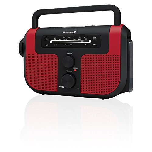 Weather X WR383R AM/FM/Weather Radio with Flashlight