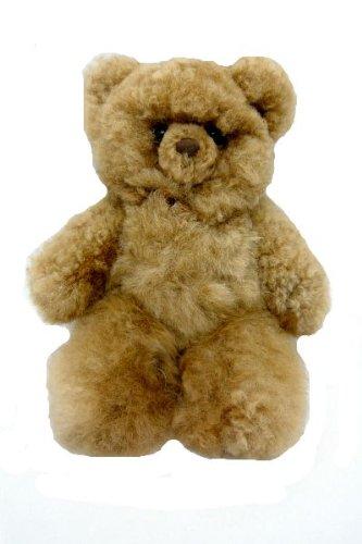 Amazon Com Alpaca Fur Teddy Bear Plush Caramel Natural Fair Trade