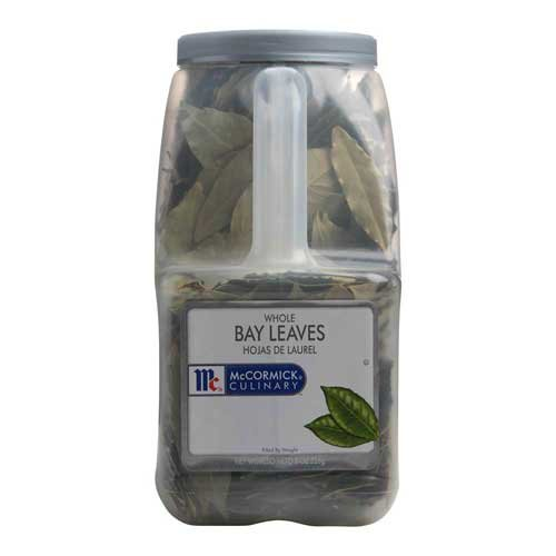 McCormick Whole Bay Leaf - 8 oz. container, 3 per case by McCormick