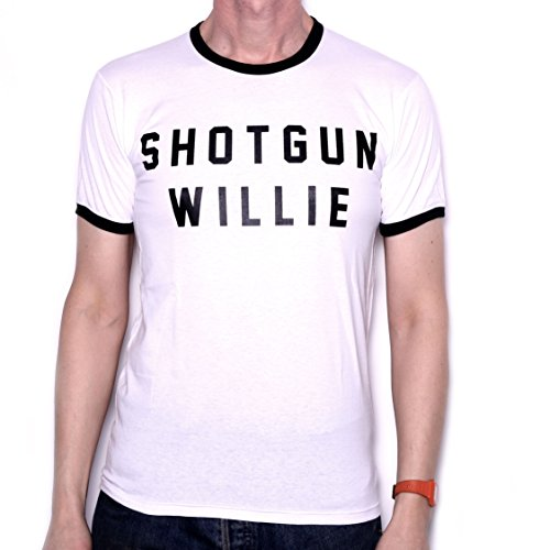 Old Skool Hooligans Shotgun Willie Letters T Shirt