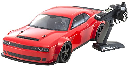 Kyosho Inferno Gt2 Race Spec Dodge Demon 1 8 Scale Nitro Rc Car