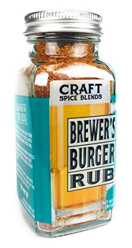 Brewer's Burger Blend - Craft Spice Blends - Salt Free Burger Seasoning - 3.3oz