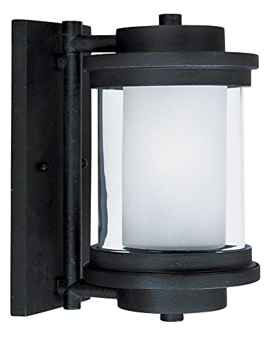 Maxim 5862CLFTAR, Lighthouse Outdoor Wall Sconce Lighting, Anthracite