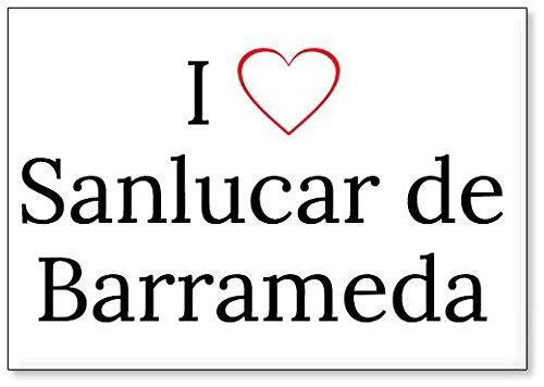 Mundus Souvenirs - Amo Sanlucar de Barrameda, Imán para ...