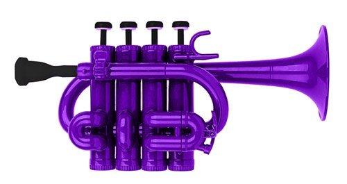 Cool Wind CPT-200 Series Plastic Bb/A Piccolo Trumpet Purple