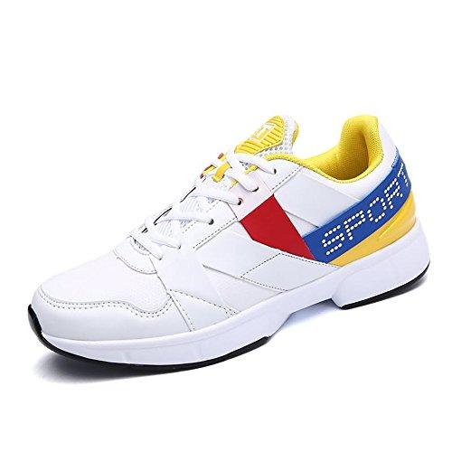 shoes Blanc 39 Shufang Jaune de pour Running Chaussures Homme 4pdpOq