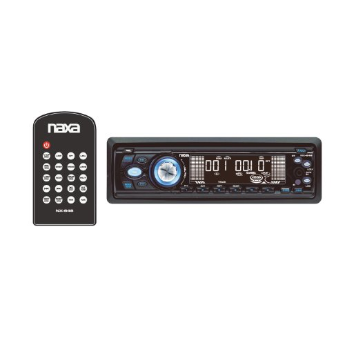 - Naxa NX-649 Car Audio In Dash 350 Watt CD MP3 Player AM FM Stereo Aux