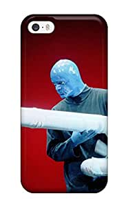 New Style Excellent Design Blue Man Group Phone Case For Iphone 5/5s Premium Tpu Case 5383874K76805243