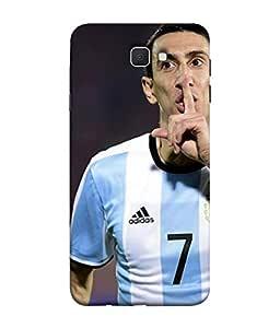 ColorKing Football Dimaria Argentina 01 Multi Color shell case cover for سامسونج جالاكسي جيه 7 برايم