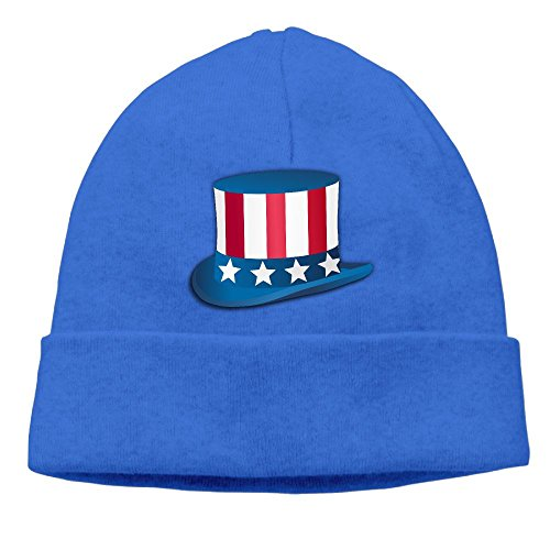 Sam Sockets (Uncle Sam Hat Daily Solid Knit Cap Beanie That Fit Your Head Perfect Stretchy & Soft Black)
