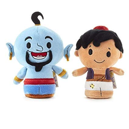 Hallmark itty bittys Disney Aladdin and Genie Stuffed Animals, Set of 2 from Hallmark