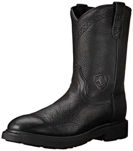 Ariat Men's Sierra Work Boot, Black, 11 EE - Work Lucchese Boots