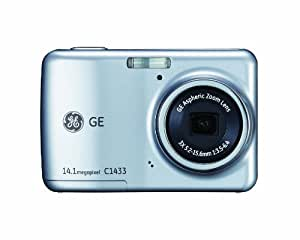 GE Smart C1433-SL 14 MP with 3 x Optical Zoom Digital Camera, Silver