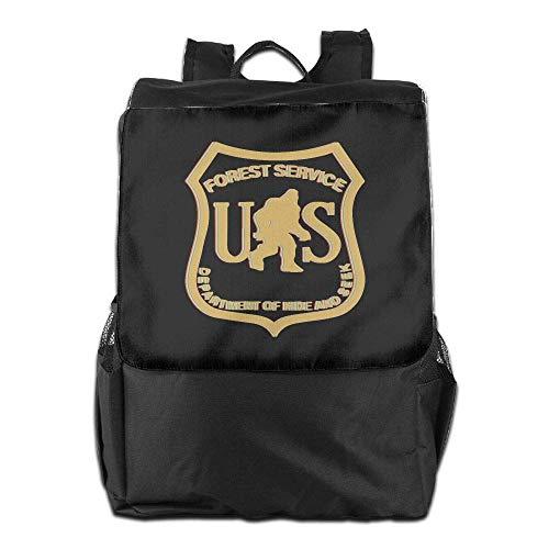 Men Gold Dept School Laptop Us Bigfoot Service Backpack Travel College Uhfgyhuihjf Forest Bookbag Women w06xFKqFdX
