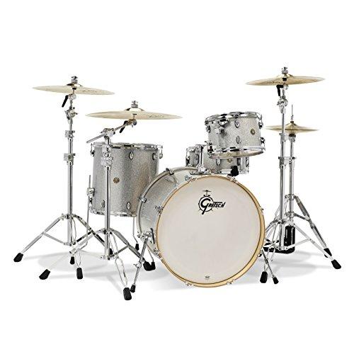 Gretsch Drum Set Silver Sparkle ()
