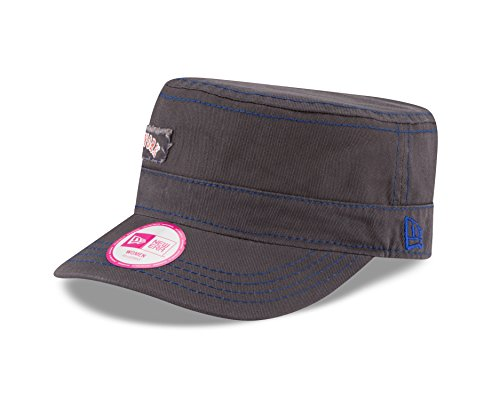 meet a6818 4e1df MLB New York Mets Women s Major Chic Adjustable Military Cap, One Size,  Graphite