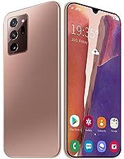 N28U Goedkope smartphone 5G Netwerk 8 GB + 256GB 16MP + 32MP 6.6 inch scherm 4800mAh gezicht vingerafdruk ontgrendelen dubbele SIM,Goud
