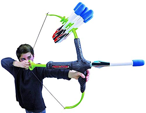 Faux Bow 3 - Shoots Over 100 Feet - Foam Bow & Arrow Archery Set from Marky Sparky