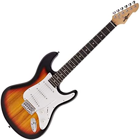 Guitarra Electrica LA de Gear4music Sunburst: Amazon.es ...
