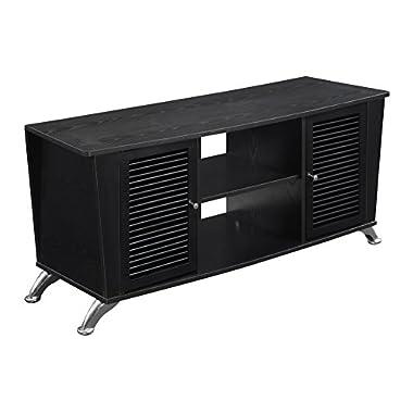 Convenience Concepts Designs2Go Voyager TV Stand, Black