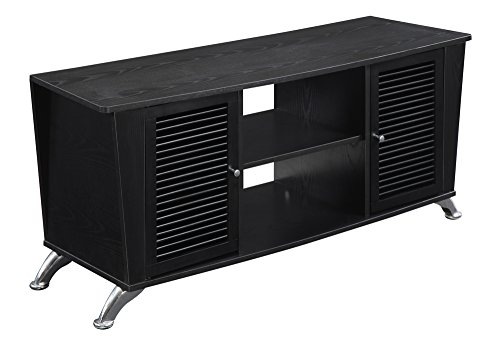 Convenience Concepts Designs2Go Voyager TV Stand, Black