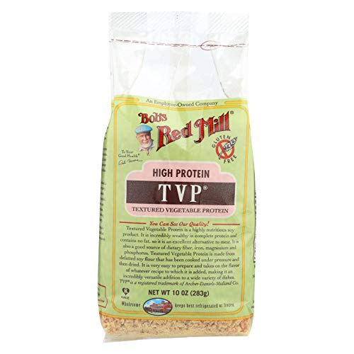 Bob's Red Mill TVP (Textured Vegetable Protein), 10-ounces (Pack of4)