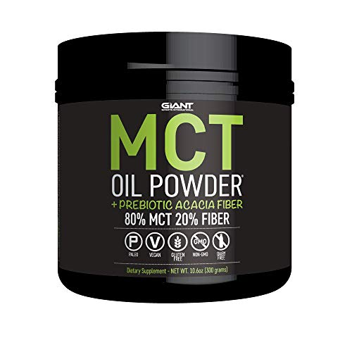 Cheap MCT Oil Powder with Prebiotic Acacia Fiber – 8g of Pure Medium Chain Triglycerides – Designed for Ketogenic Diet to Control Appetite, Boost Ketone Production and Supply Energy- 30 Servings, Unflavored