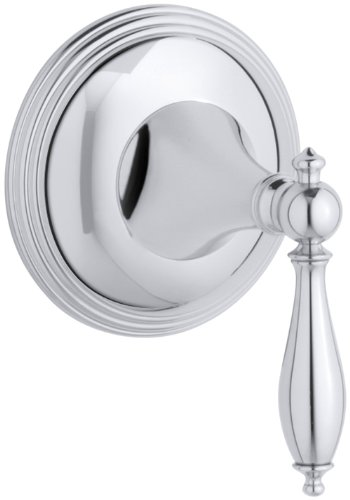 (KOHLER K-T10303-4M-CP Finial Traditional Volume Control Valve Trim, Polished Chrome)