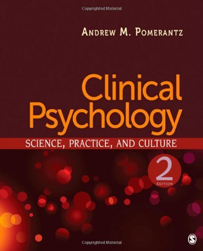 Clinical Psychology Science, Practice, & Culture (Hardcover, 2010) 2ND EDITION