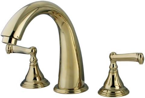 Kingston Brass KS5362FL Royale Roman Tub Filler, Polished Brass