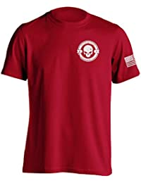 "<span class=""a-offscreen"">[Sponsored]</span>Divided We Fall Military Sniper Skull T-Shirt"