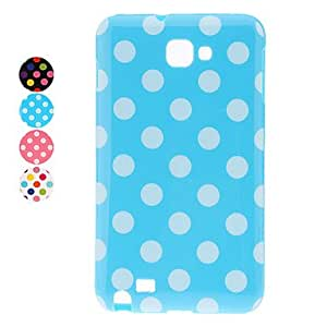 get Stylish Dots Pattern Soft Case for Samsung Note I9220 (Assorted Colors) , Pink