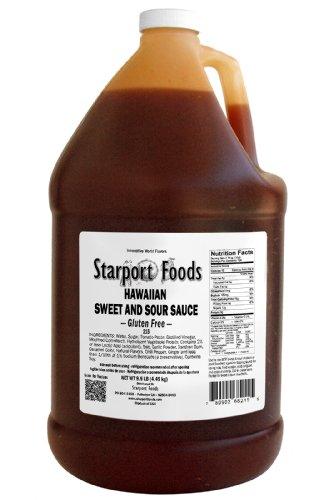 Sauce Lime Orange (Starport Foods Hawaiian Sweet and Sour Sauce - Gluten Free, 1 gallon (NET WT 9.9 lb, 158 oz))