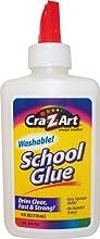 Cra-Z-art Washable School Glue, 4 oz, 1 Bottle (11302)