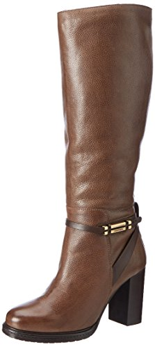 Tommy Hilfiger Ladies H1285illary 10a1 Boots Brown (funghi)