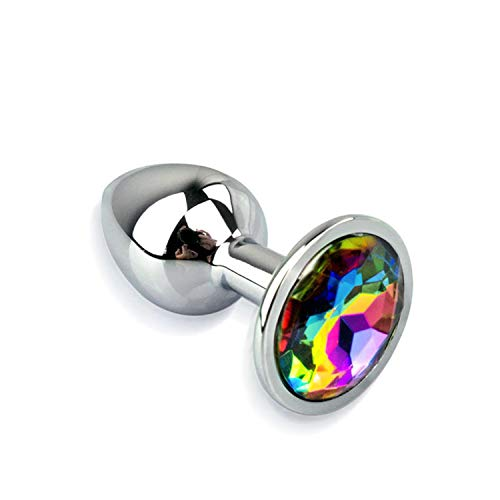 2018 Cheap and Good Products Stainless Steel Metal Anal Plug Crystal Jewelry Booty Beads Sex Toys for Woman Men Gay Prostate Massager Butt Plug