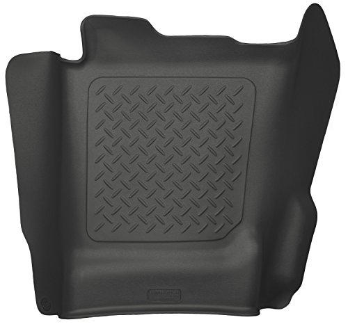 Husky Liners Center Hump Floor Liner Fits 14-17 Silverado/Sierra Crew/Double (Center Hump Liner)