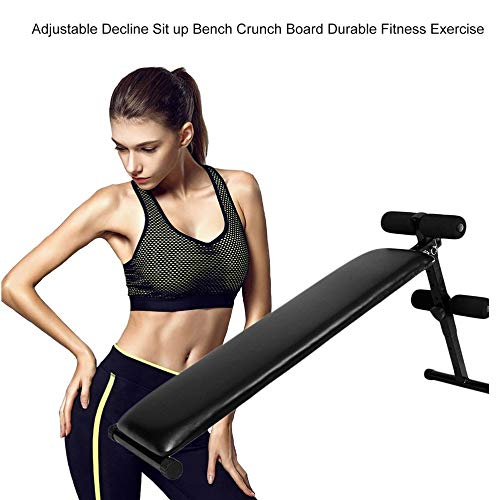 Orihat Sit Up AB Bench Incline Decline Adjustable Indoor Trainer Exercise Workout Machine, Slant Board ABS Benches