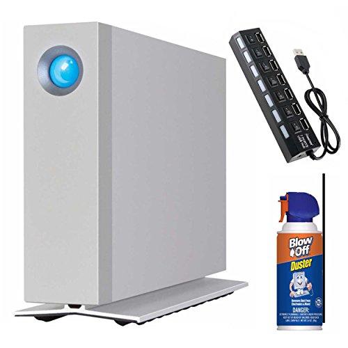 LaCie D2 Thunderbolt 2, USB 3.0 4TB Desktop external Hard Drive STEX4000400 Kit