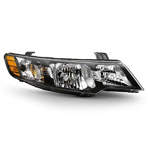 ACANII - For 2010 2011 2012 2013 KIA Forte Hatchback & Sedan Headlight Factory Style Headlamp Assembly Passenger Side