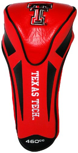 NCAA Texas Tech Red Raiders Single Apex Driver Head (Tech Driver Headcover)