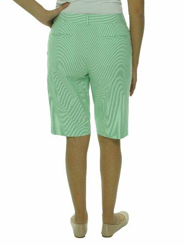 Lauren Active Golf Women's Striped Cotton Bermuda Shorts