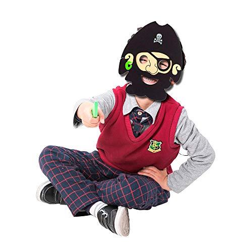 Highpot Cartoon Hero PJ Masks Halloween Party Favors Dress up Costumes (F)]()